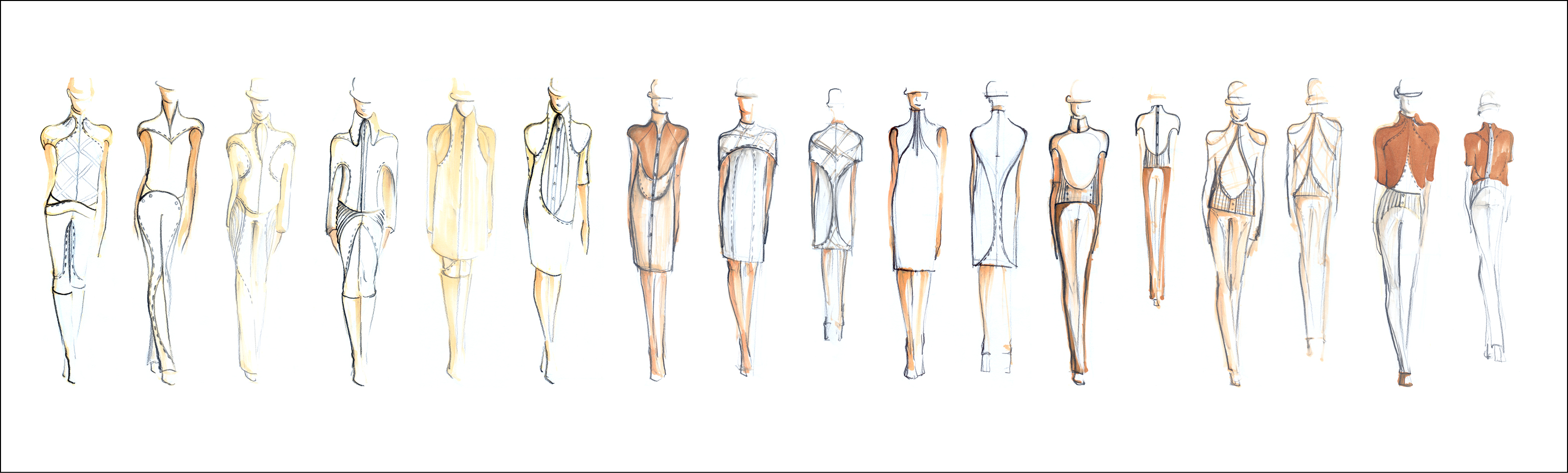 Sketches Symplicity Collection by Andreea Ambs