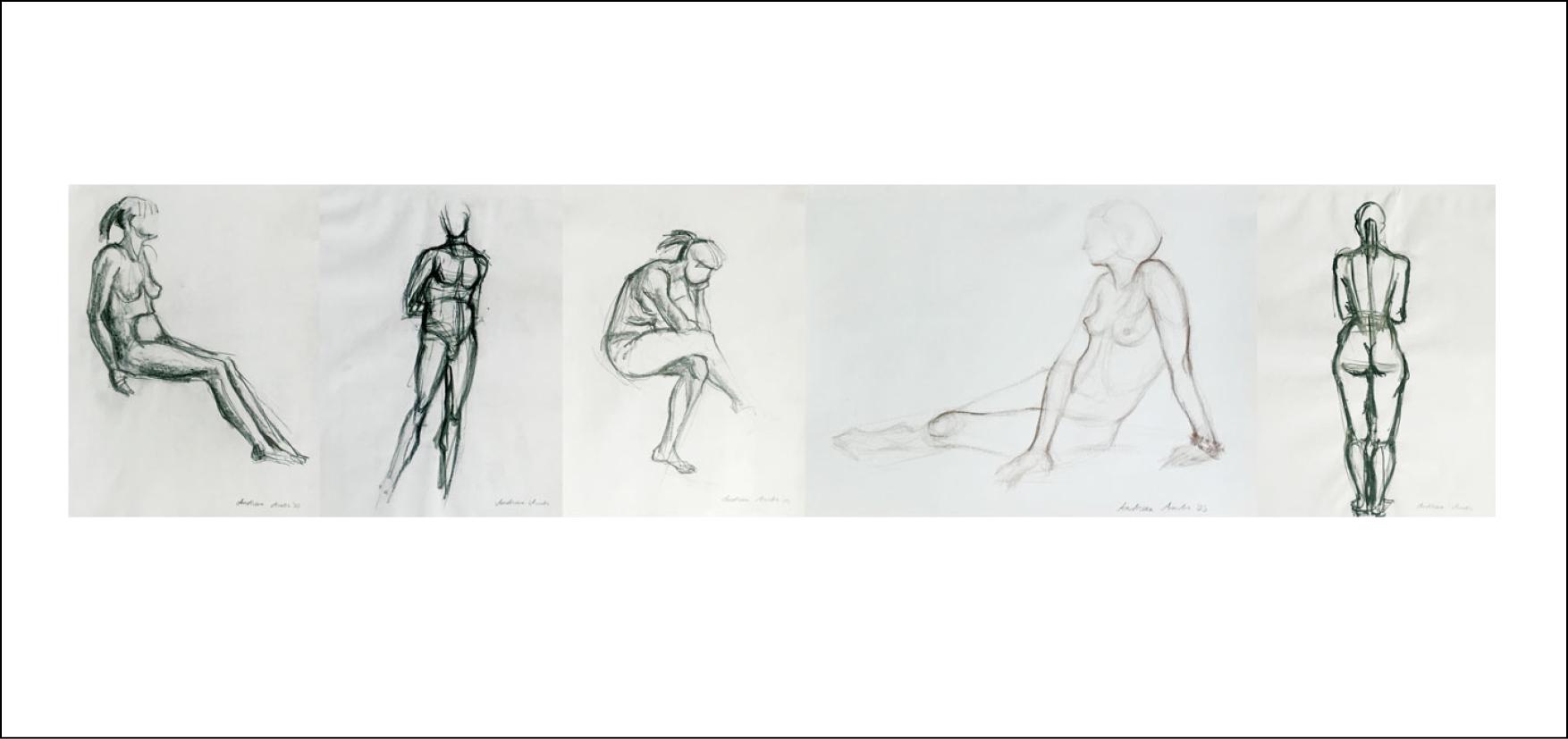 Nude Hand Drawings